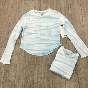 Z by Zealand Girl Long Sleeve Tie Dye Top